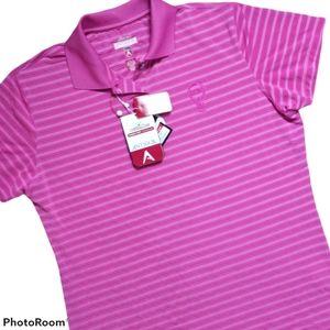 ANTIGUA Woman's Golf Shirt NWT Size Large